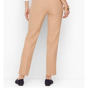 TALBOTS HAMPSHIRE ANKLE PANTS - SOLID 8P